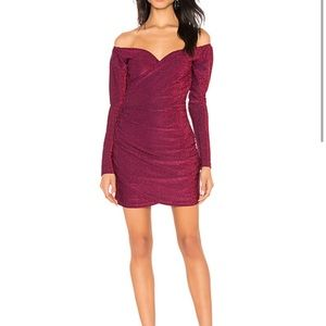 By the way Mabel off shoulder dress XXS  NWT